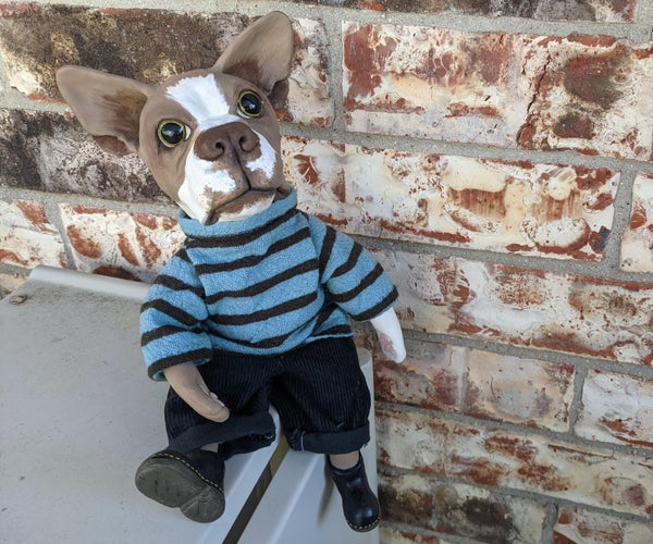 Ball-Jointed Dog Doll