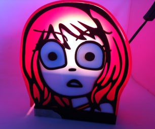 Ramona Flowers Lamp.