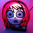 Ramona Flowers Lamp.
