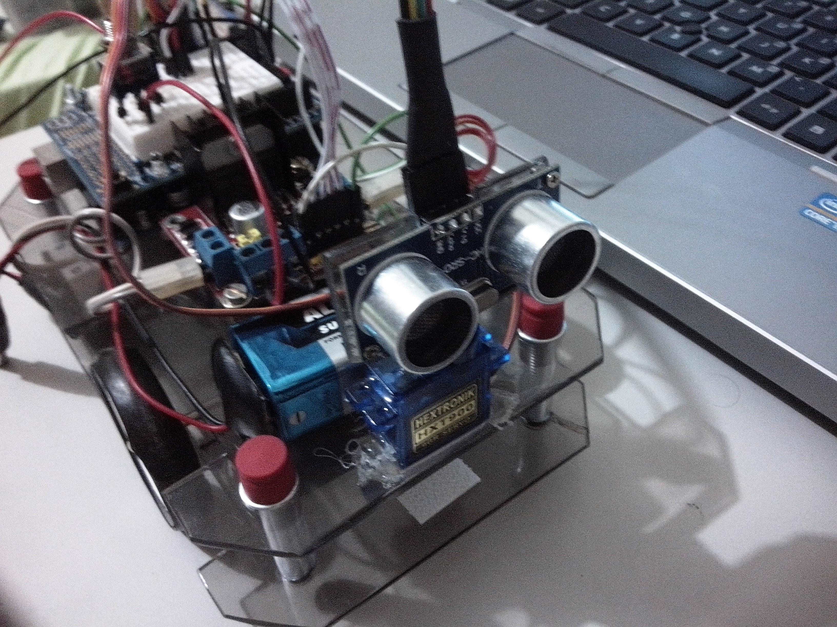 PINGBot - Explorer Robot