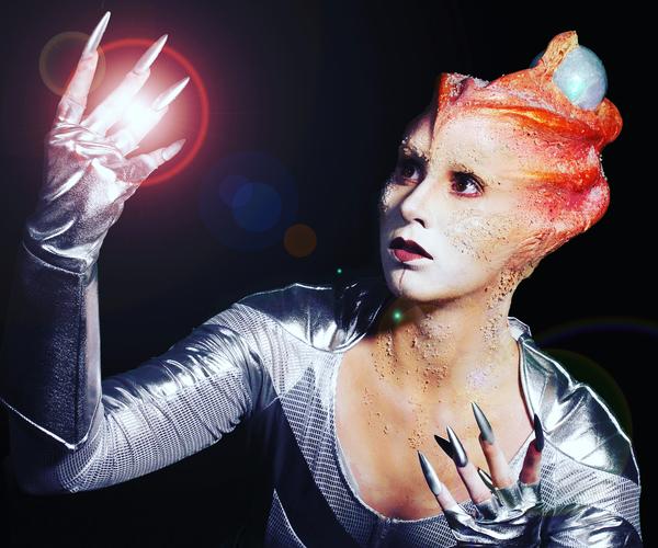 Gojira Alien Makeup