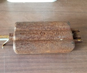 RUST!!! Removal. Using Electrolysis.