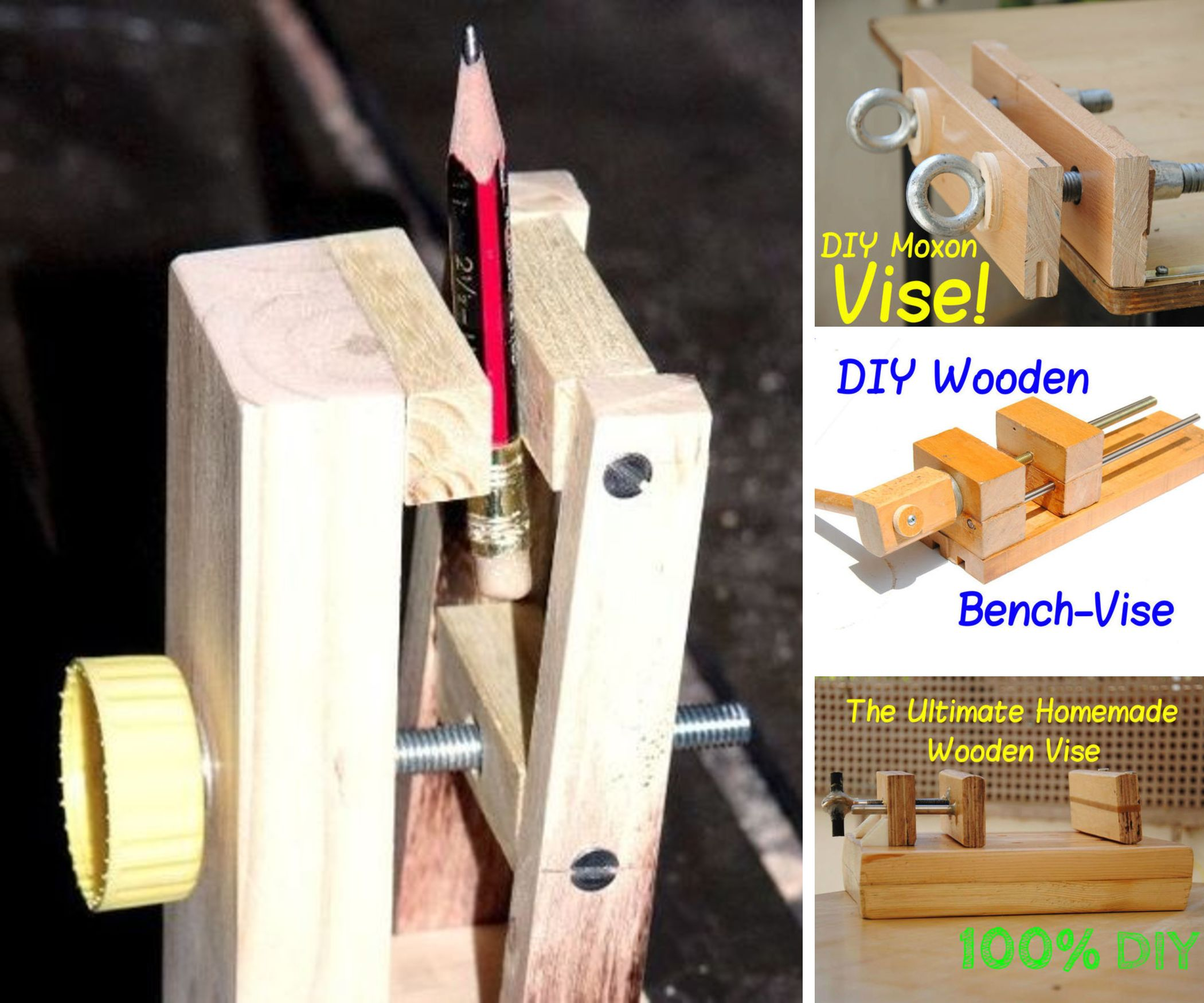Make Your Own Bench-Vise!