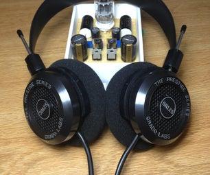 DIY高保真:A级混合耳机放大器