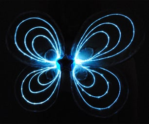Lightwings: Fiber Optic Fairy Wings