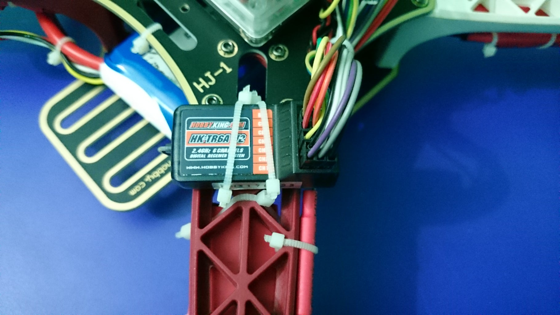 Installing KK2.1.5 Flight Controller and Reciever