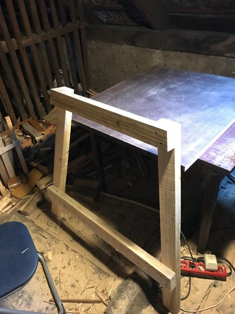 Assembling Leg Pieces Part 2