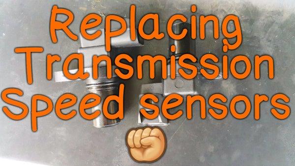 Replacing Transmission Speed Sensors (Hyundai Trajet 2000).