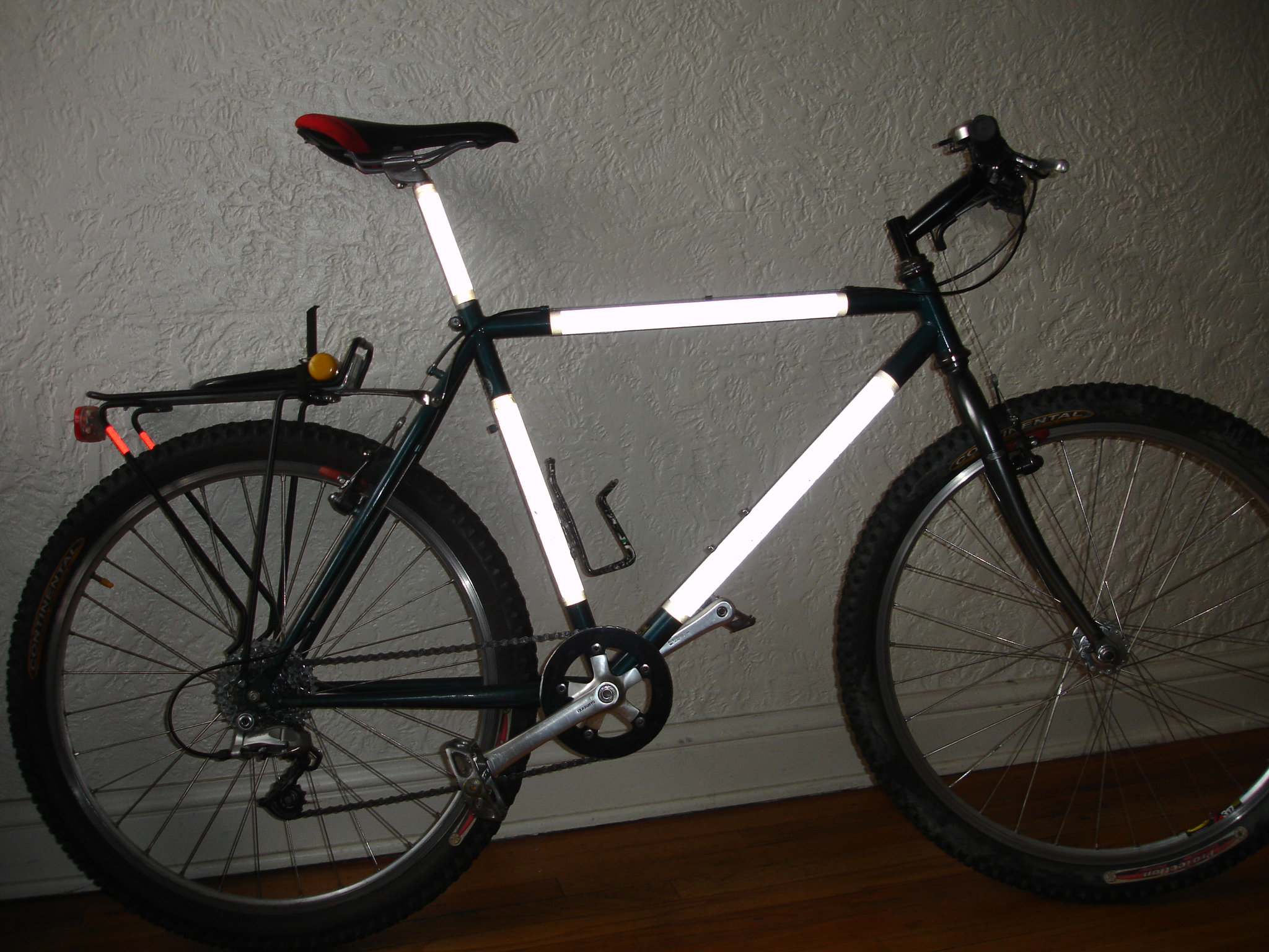 Wrap your bike in Reflective cloth