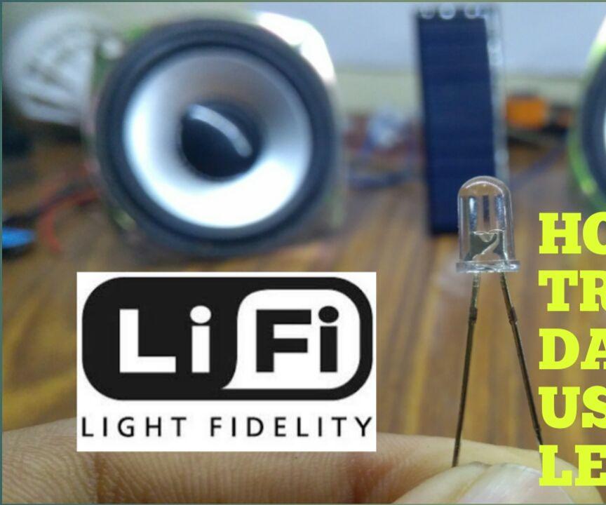 How to Transfer Data Using Led (li-fi Technology)