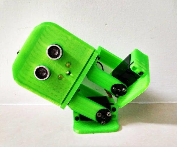 Tito - Arduino UNO 3d Printed Robot