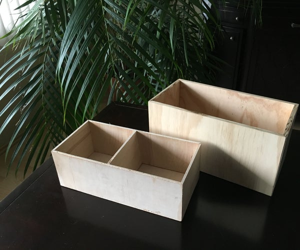 Secret Bottom - Wood Box!