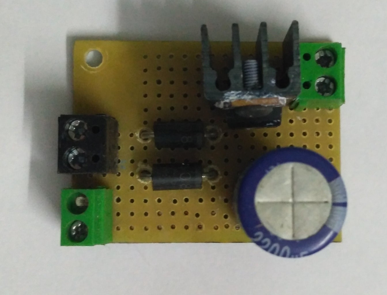 Assembling 15V Regulator