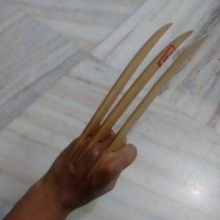 Laser Cut Wolverine Claws