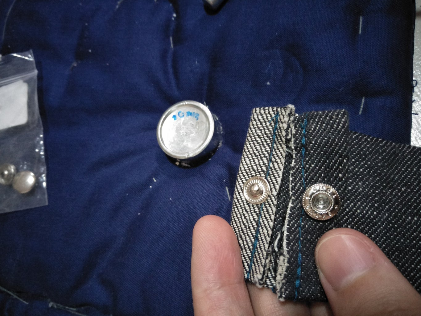Straps and Snap Fasteners