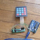 Modern and New and Easier Example of Locker With Arduino Matrix Keypad 4x4