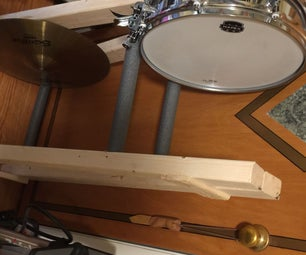 $5 Cymbal and Snare Rack