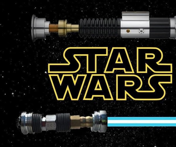 How to Make a Mini Lightsaber Out of Spare Parts
