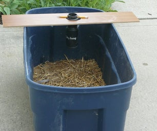 A Simple Watering System for a Chicken Brooder