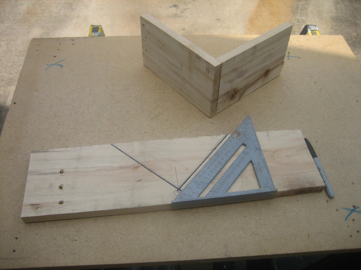 CUTTING AND ASSEMBLING PARTS