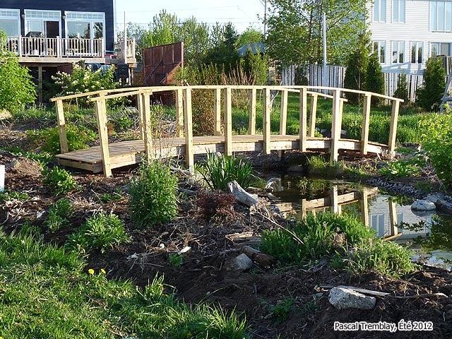 Pond Bridge How To Build A Garden, Diy Garden Pond Bridge