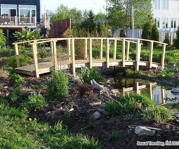 Pond Bridge - How to Build a Garden Bridge or Arched Footbridge