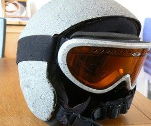 Rockhead Snowboard Helmet and Goggles