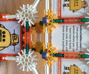 K'nex Instructables Prize Pack Stickers and Patch Display