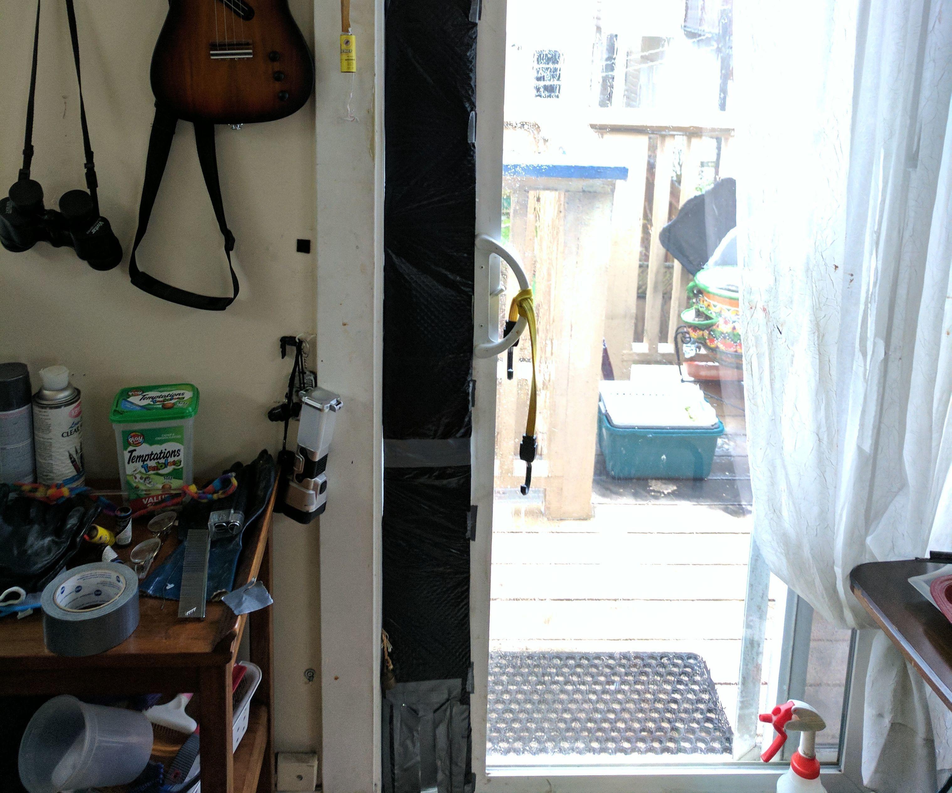 Kitty Door Magnetic Rain Flap