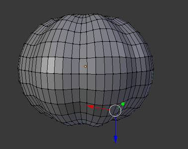 Modeling - the Outside of the Pumpkin