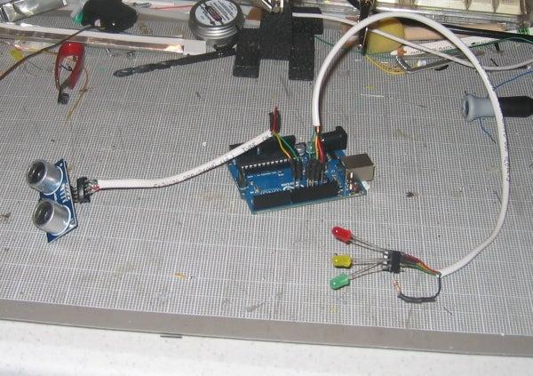 Arduino Fixed-point Vehicle Proximity Detector.
