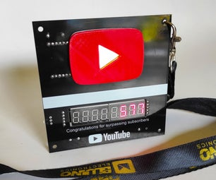 DIY Youtube Play Button Subscriber Counter - PCBWAY