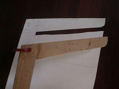 Making the Transom and Centre Rib