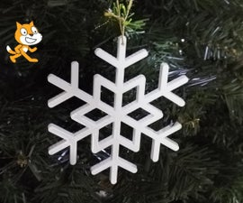 Make a Decorative Christmas Tree Ornament (with Scratch ; 3D Printed)