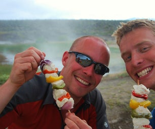 Geothermal Cuisine: Camping Food From Hot Springs & Steam Vents
