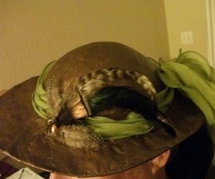 Making a Paper Mache Hat