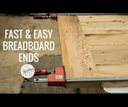 Quick and Easy Breadboard Ends | How to