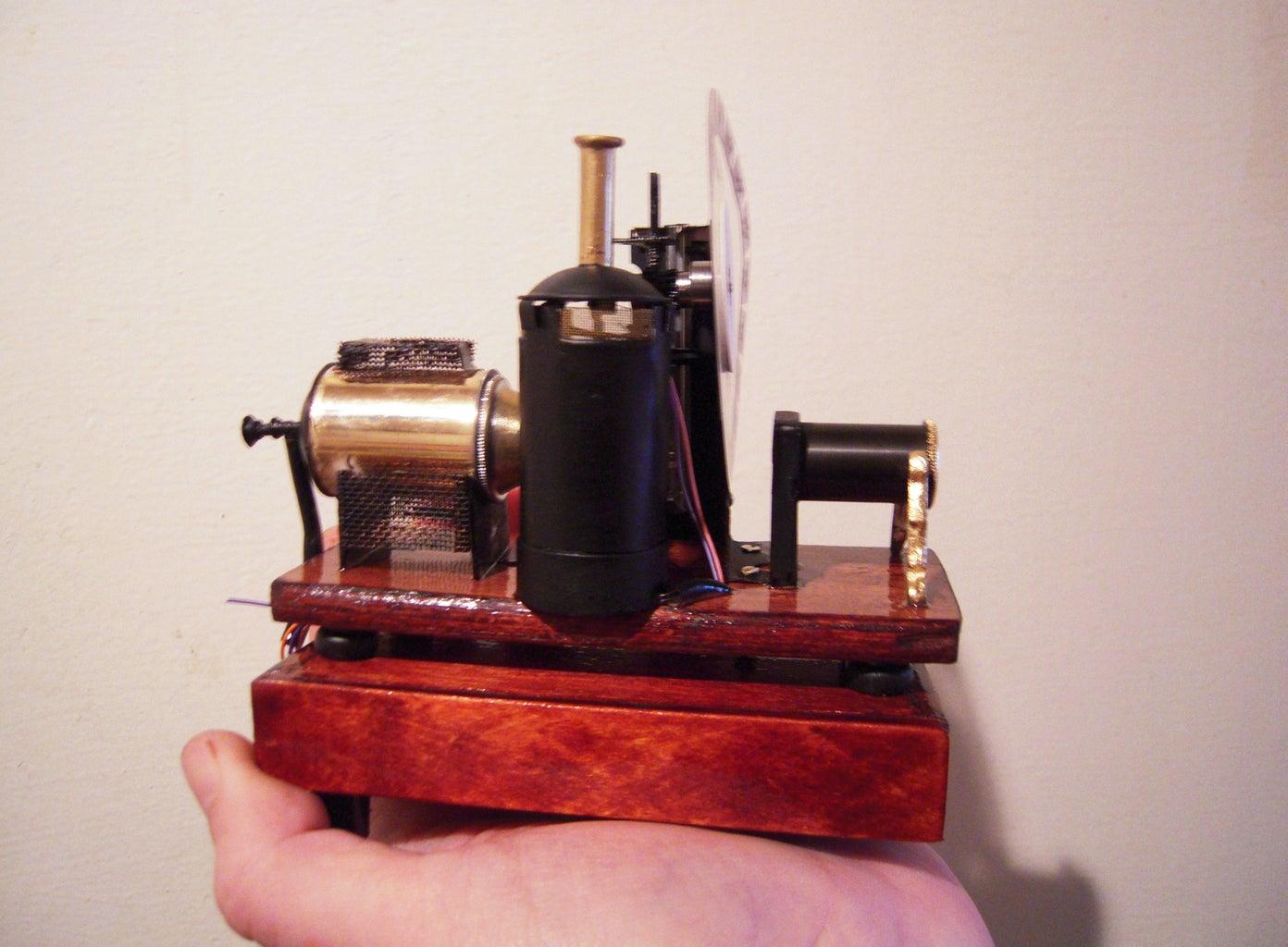 "A Miniature Working Model ""elektrotahiscope"""