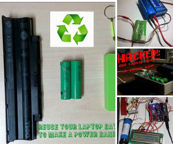 7 Ways to Reuse a Laptop Battery