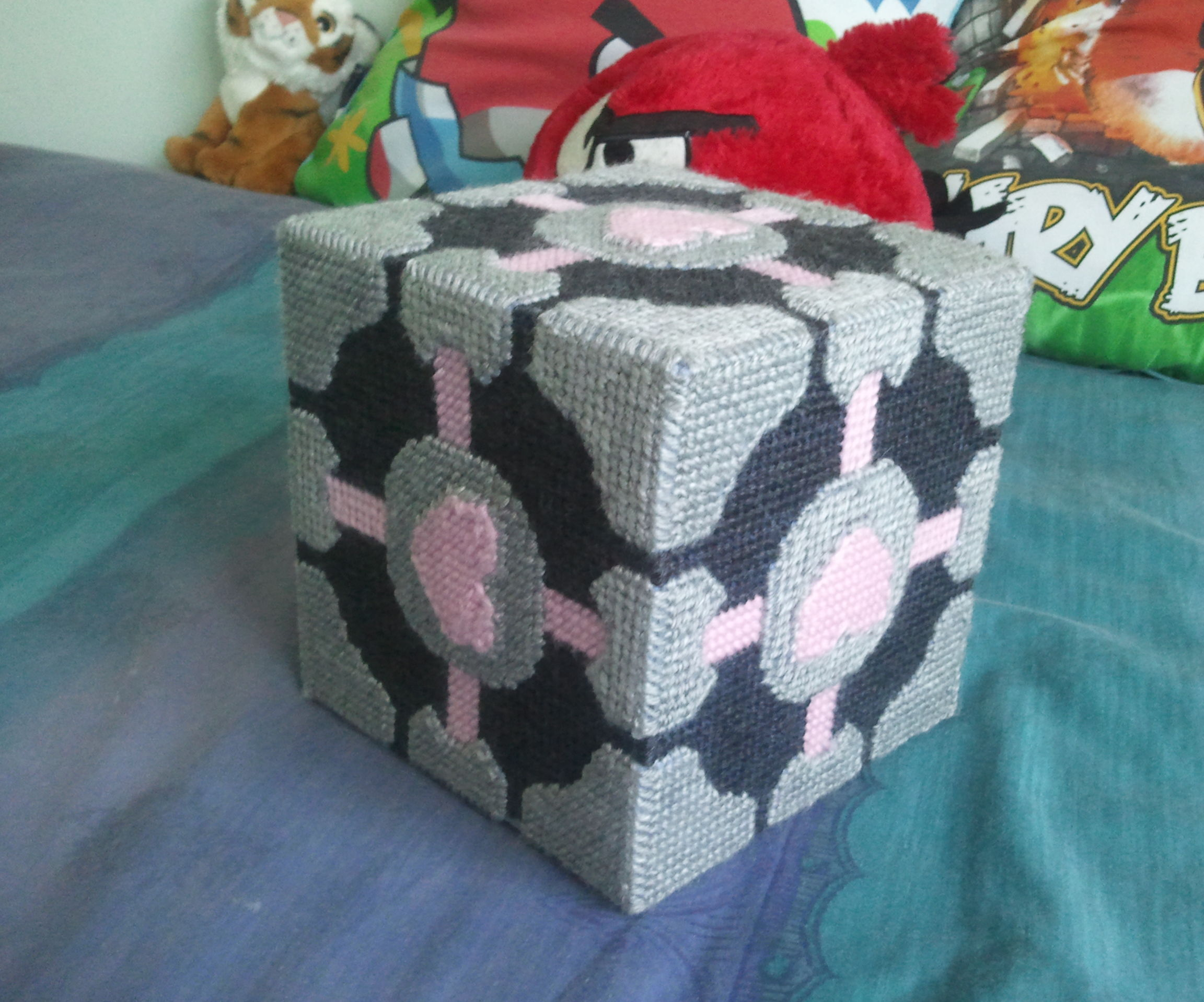 How to make a Weighted Companion Cube!