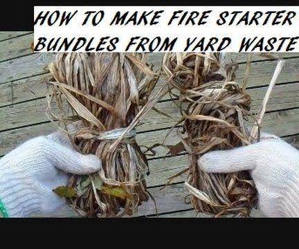 diy free fire starter bundles, environmentally friendly