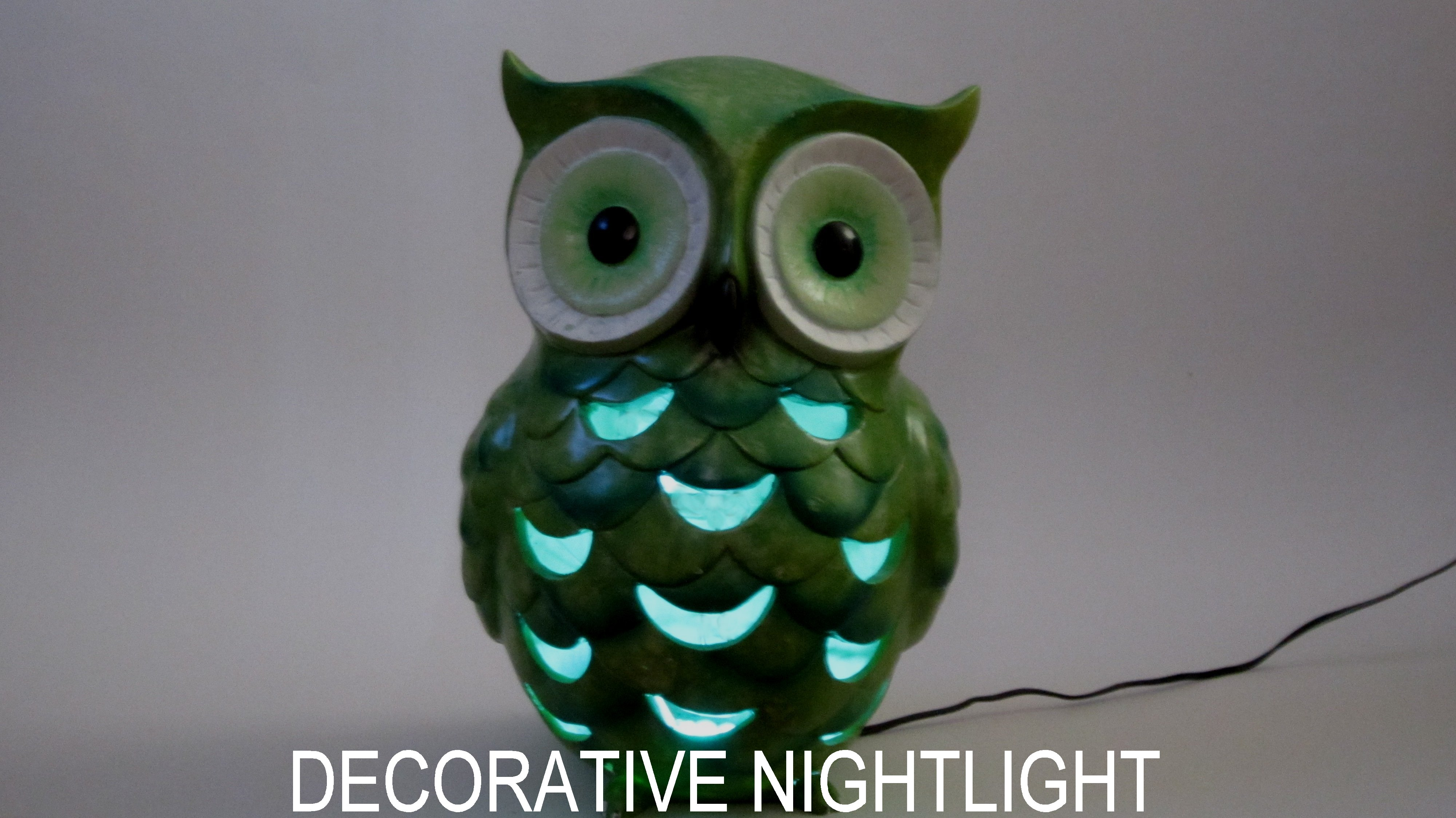 Make a Children's Nightlight From a Garden Ornament