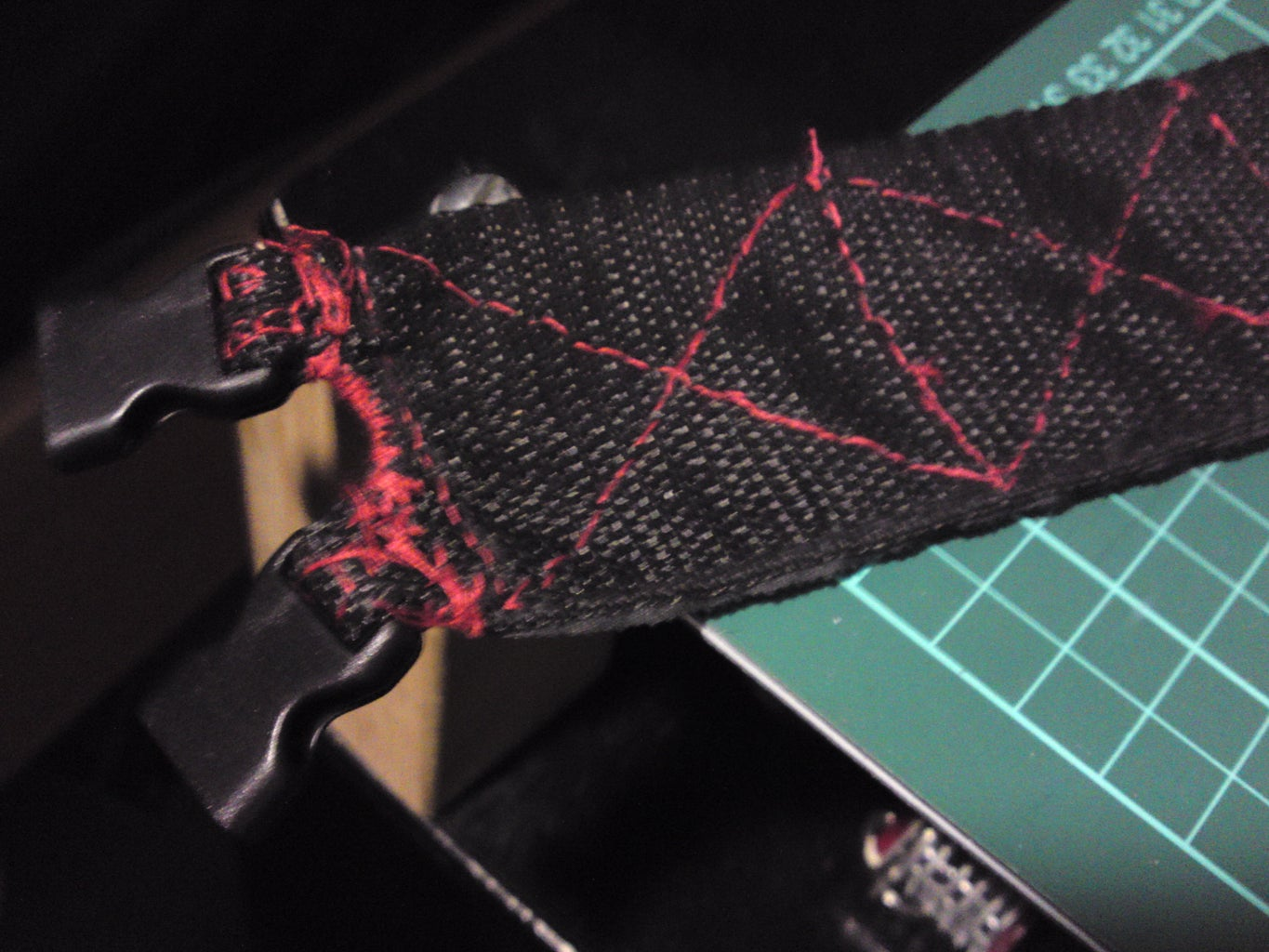 Here's What the Straps Should Look Like When Thry Have the Velcro Stitched On...