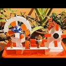DIY Kinetic Art Water Wheel