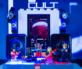 The LEGO Minifigure Jukebox