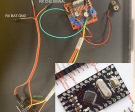 DIY Brushed Motor ESC Using Arduino and L298N H-Bridge