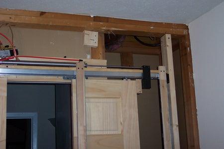 Fabricate Door Bracket / Install Pistons