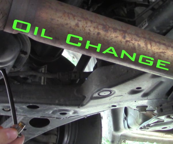 Car Oil Change- the Right Way