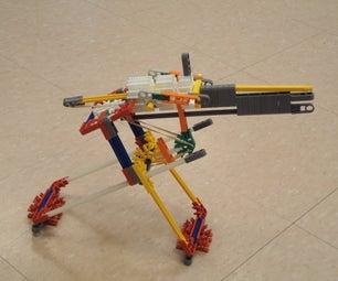 Adjustible K'nex Gun