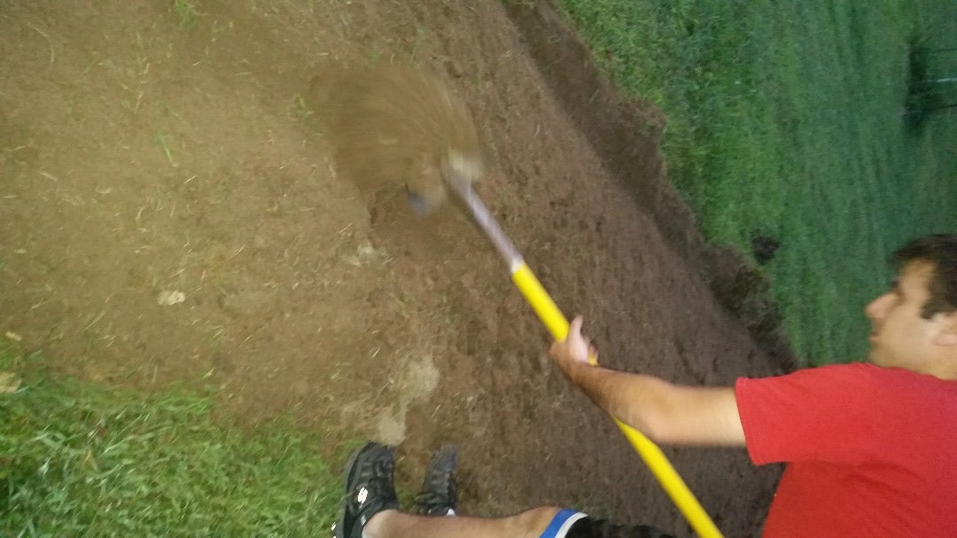 Dig the Hole for Planting